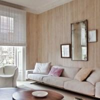 Neutral wood-effect wallpaper | wallpaper designs ...