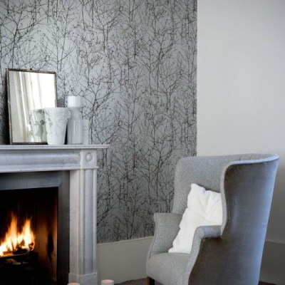 Shades of grey wallpaper | wallpaper designs | housetohome.co.uk
