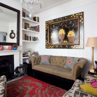 Eclectic living room | housetohome.co.uk