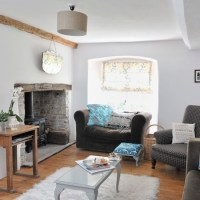 Original living room features | Modern country cottage ...