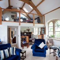 Take a tour around a delightful remodelled church hall ...