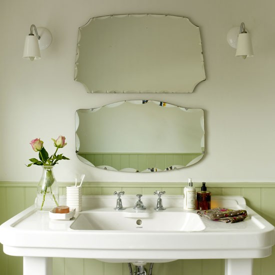 Small Bathroom Mirrors Uk Vintage-style Mirrors | Small Bathrooms Ideas