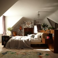 Neutral country-style bedroom   country decorating ideas ...