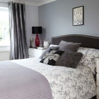 Grey and black bedroom | Bedroom decorating | housetohome ...