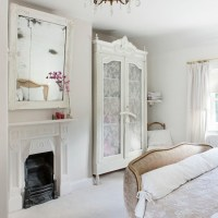French-style pretty bedroom in pure white | Bedroom ...