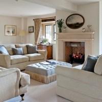 Neutral opulent living room   housetohome.co.uk