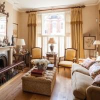 Gold ornamental living room
