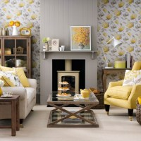 Grey and yellow living room ideas and dcor inspiration ...