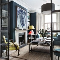 Navy living room | How to decorate with blue | housetohome ...