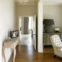 Cream and wood floor hallway   housetohome.co.uk