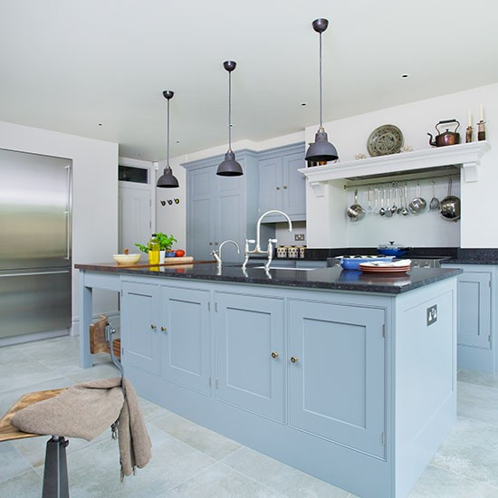 country kitchen blue painted units kitchen decorating ideas homebase kitchens furniture garden decorating diy