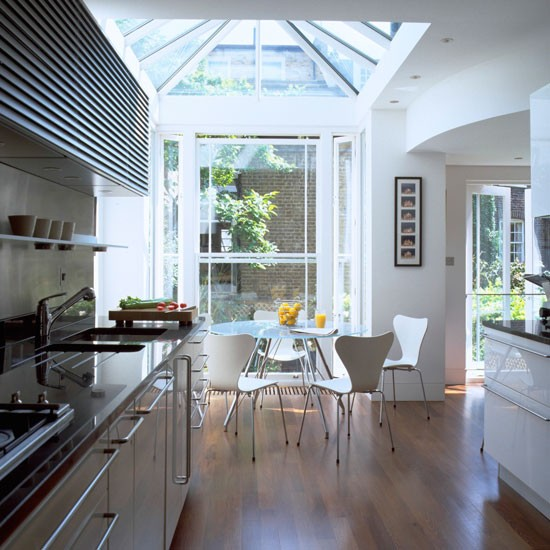 heating conservatory glass extension ideas housetohome uk small eat kitchen option extension