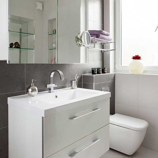 white bathroom slate tiles bathroom decorating ideal home grey white bathroom ideas decor ideasdecor ideas