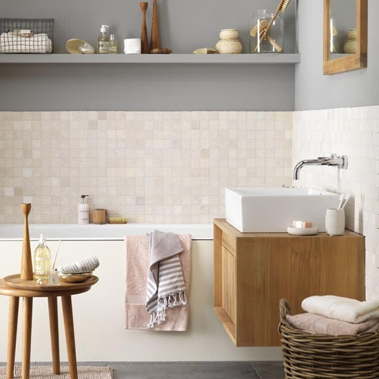 tiled bathroom contemporary bathroom ideal home housetohome bathroom design ideas uk