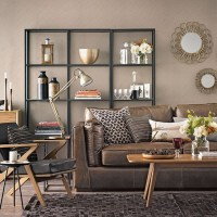 Chocolate brown living room | Living room decorating ...