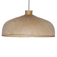 Bamboo dome pendant light from Holloways of Ludlow ...