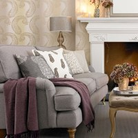 Cream and grey living room