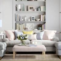 Pale grey family living room | Family living room design ...