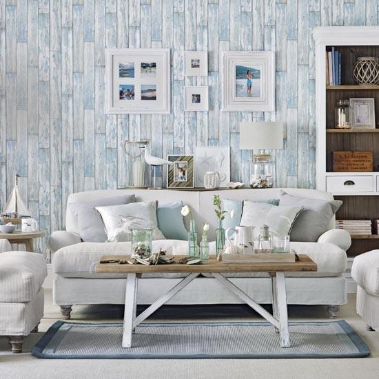 Coastal country living room