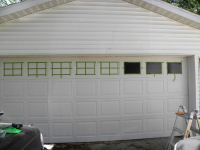 Faux Garage Door Windows | House To Home Blog