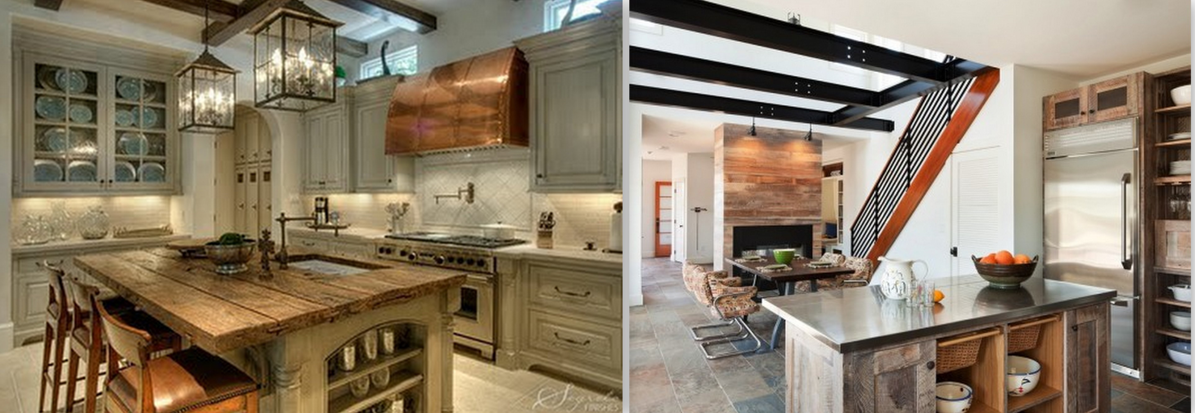 Reclaimed Wood Kitchen Cabinets Rustic House To Home Blog