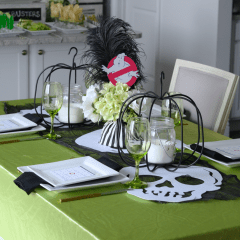 Ghostbusters GNO Movie Party and Tablescape