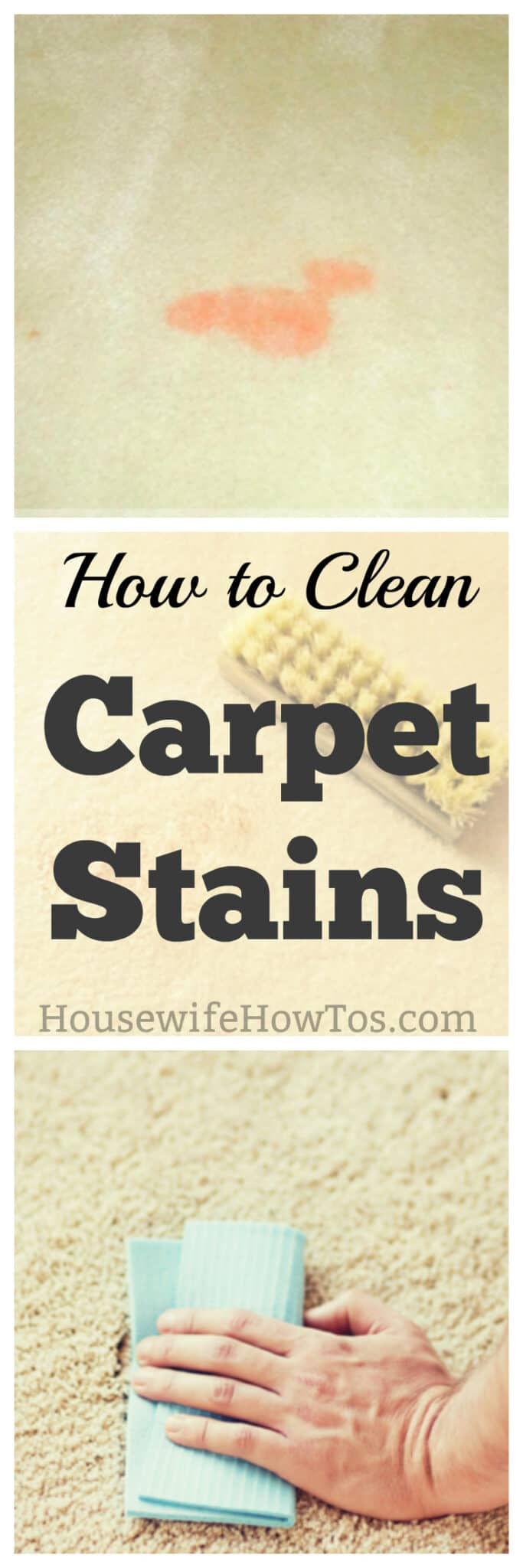 How To Clean Carpet Stains O Housewife How To39sr