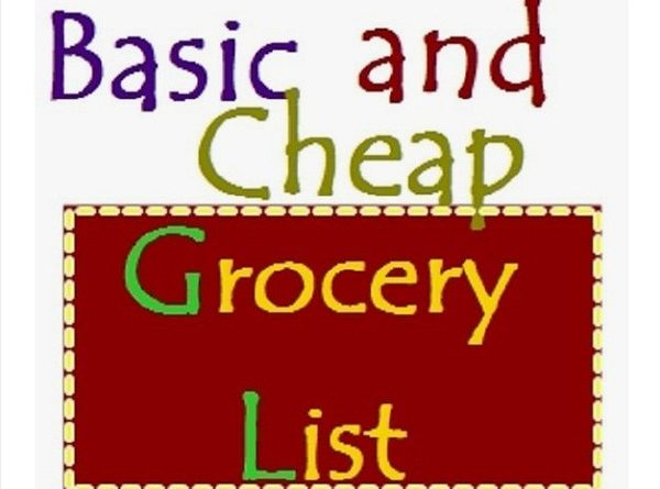 Grocery List for Eating Keto on a Budget - Basic  Cheap