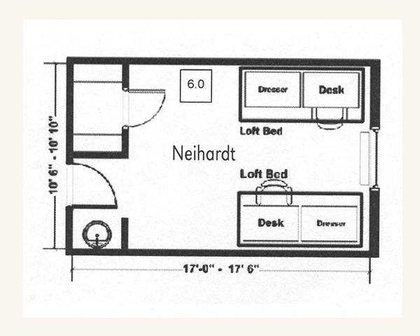 Neihardt Hall University Housing Nebraska