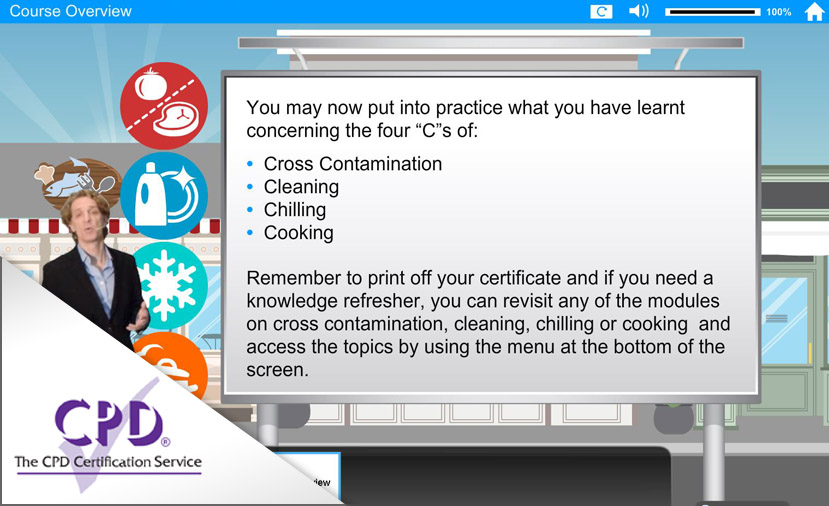 Food Safety - Final Quiz - Housing e-Learning Network - food safety quiz