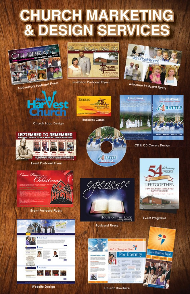Houston Area Church Church Marketing Packages