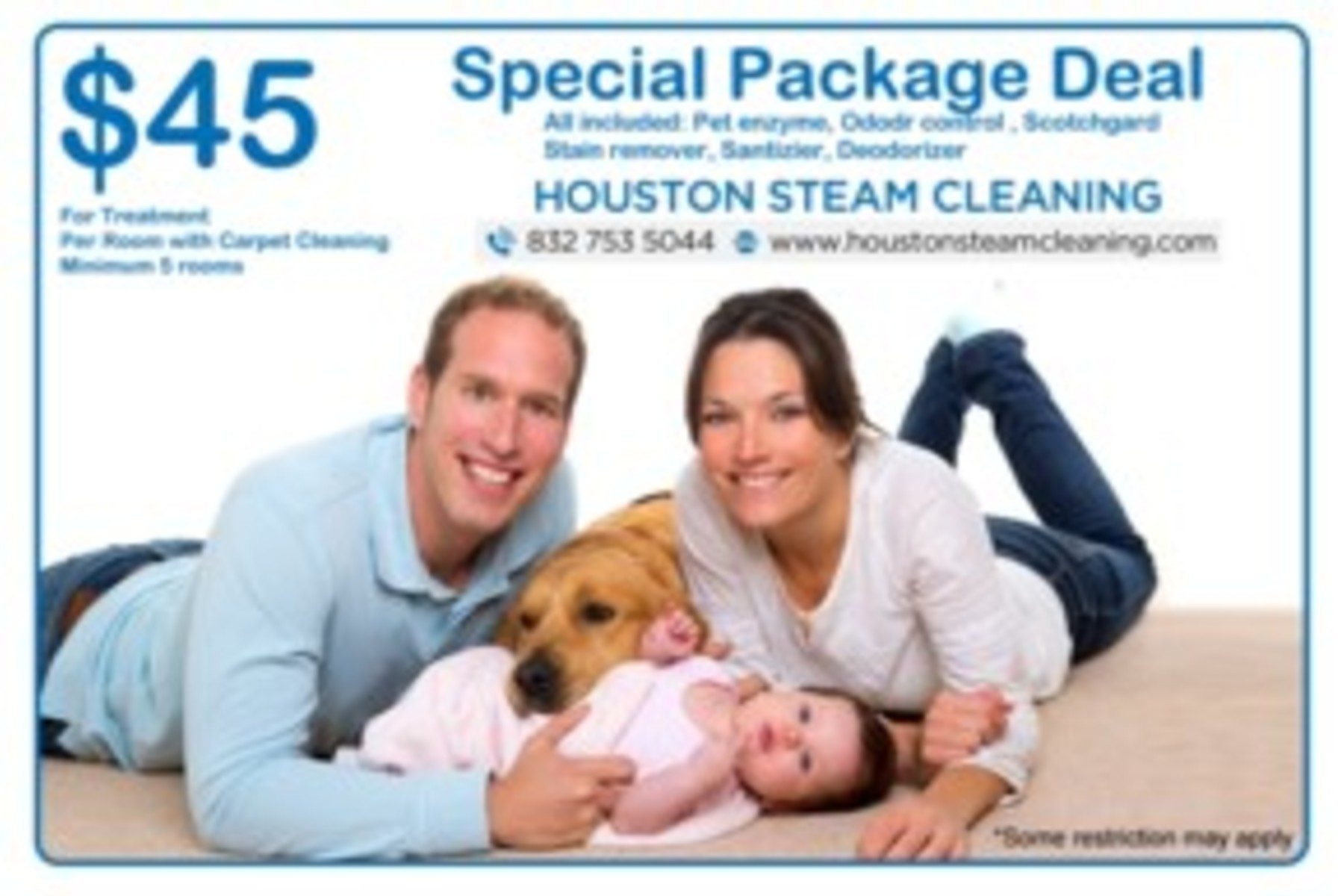 Sofa Fabric Deodorizer Package Deal Carpet Steam Cleaning
