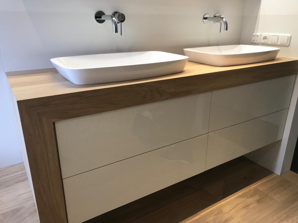 Houten Onderkast Badkamer : Badkamer houten badkamermeubel complete badkamers badkamer
