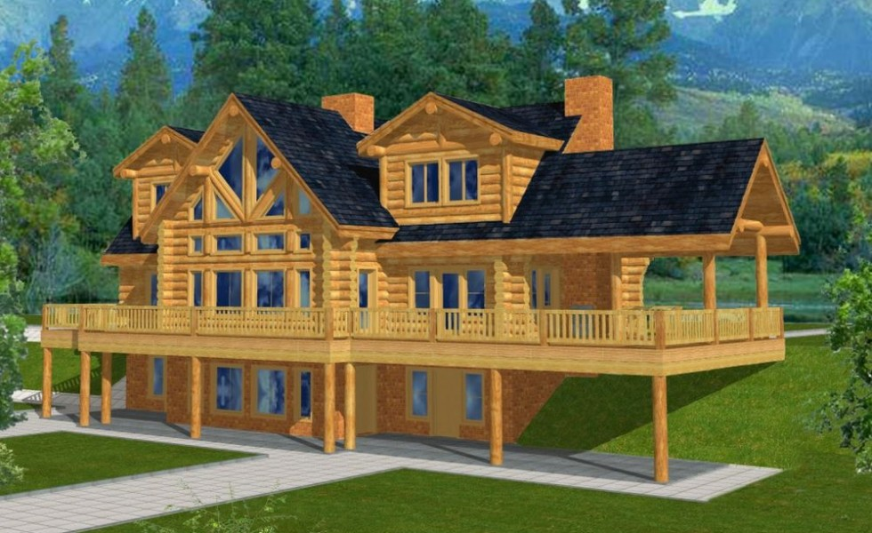 mountain home plans walkout basement attic lake house plans walkout basement hd danutabois