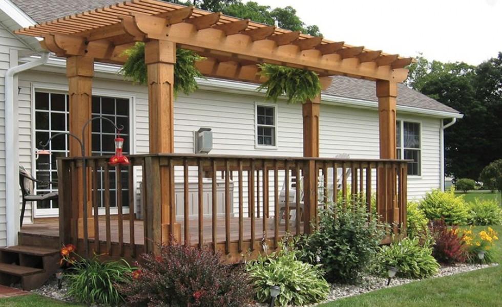 How To Build A Pergola On Concrete Outdoor Goods