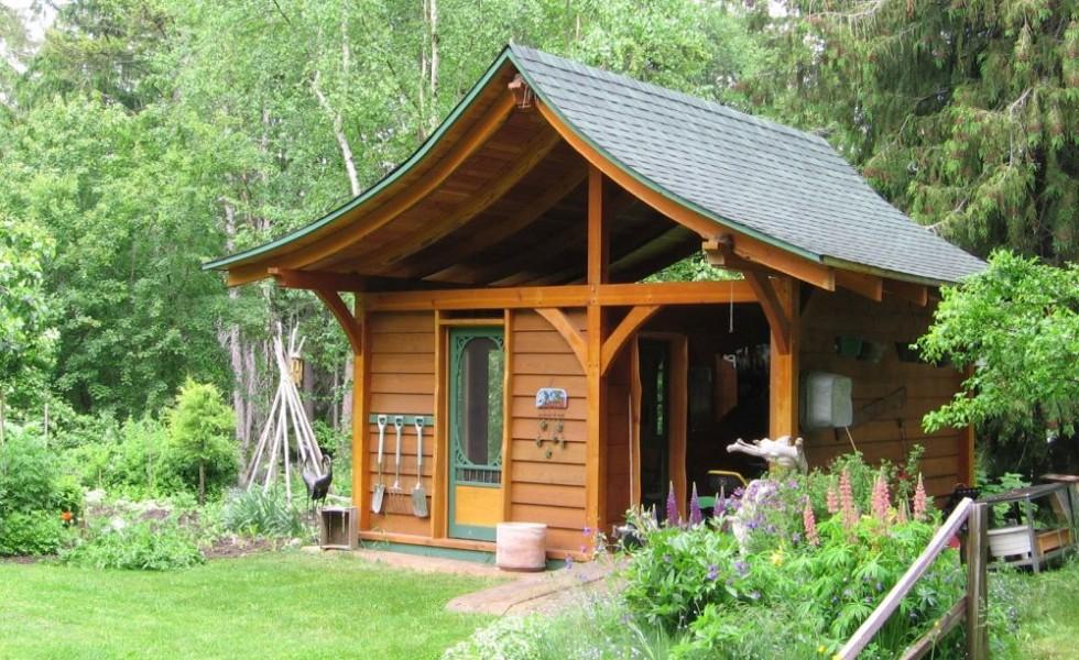 Building a garden shed - design ideas and plans - garden shed design