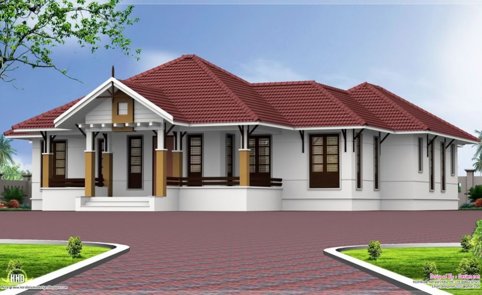 4 Rooms Single Story 4 Bedroom House Plans - Houz Buzz