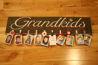DIY Christmas Grandparent Gifts