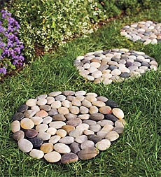River Rock Stepping Stones
