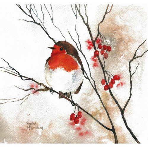 Mini Gallery – Watercolour Painting by Rachel McNaughton