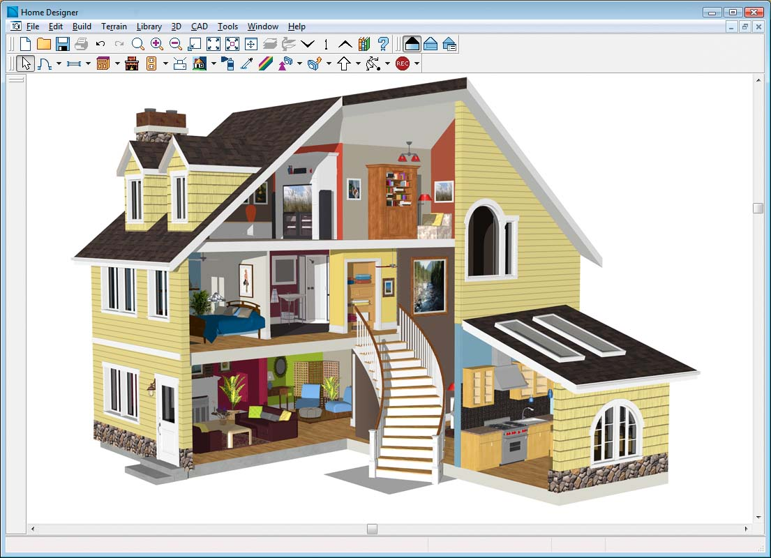 11 free and open source software for architecture or cad for Blueprint for houses free
