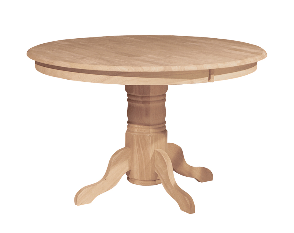 Round Table Tops Solid 48 In Round Table Top Only Howard Hill Furniture