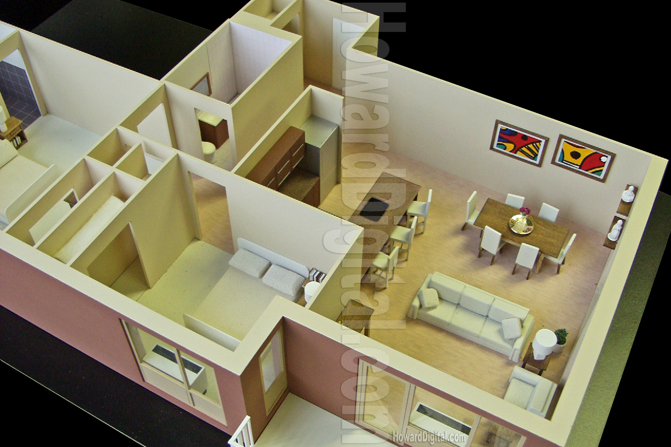 Architectural Model Kits Luxury Interior Wallpapers Interior Design Arch Models