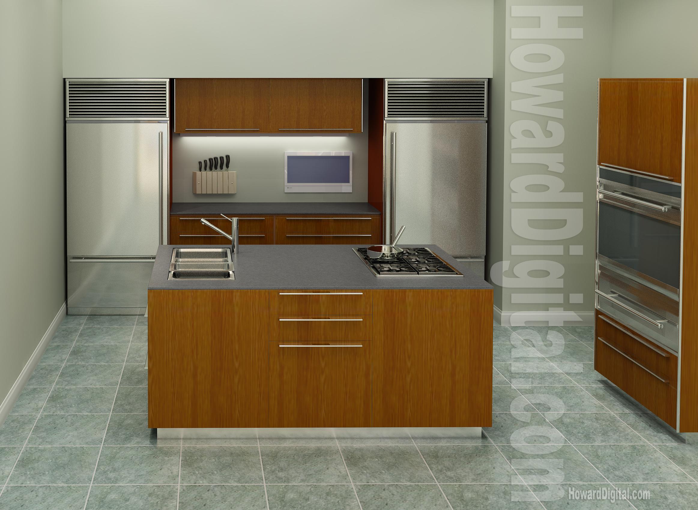 kitchen interior rendering howard digital kitchen interior design