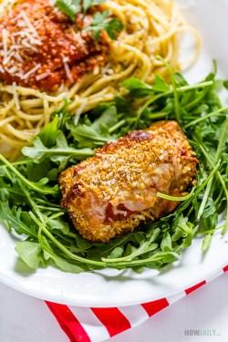 Hairy Cheesy Marinara Ping Recipe Grilled Ken Parmesan Oven Grilled Ken Parmesan Food Network Grilled Ken Parmesan