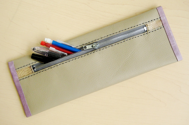 Leather Pencil Case How Did You Make This Luxe Diy