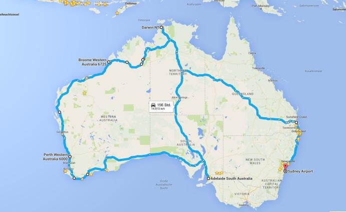 Motorrad Reiseberichte Australien