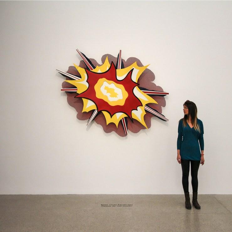Lichtenstein original at the MUMOK, Vienna | How Far From Home