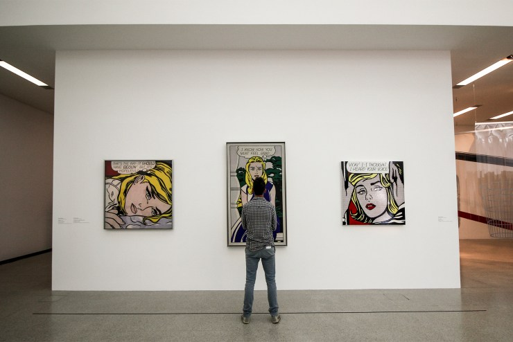 Lichtenstein originals at the MUMOK, Vienna | How Far From Home