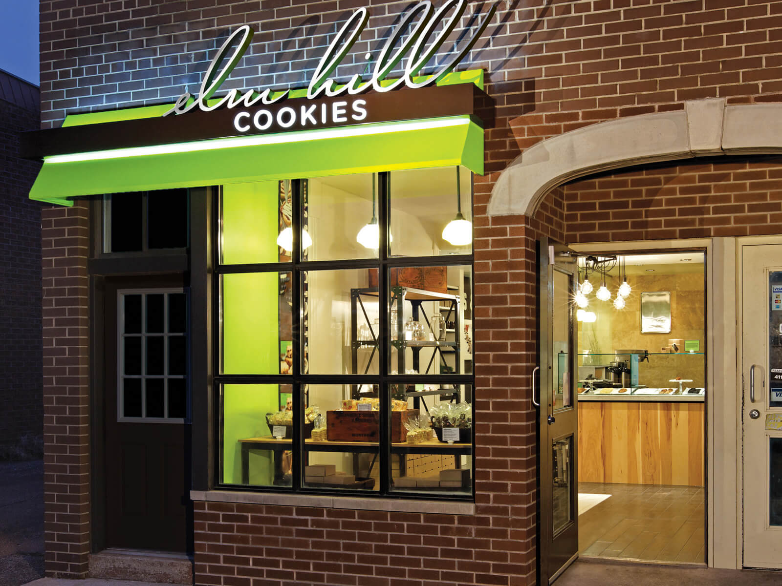 Modern Lighting Rdis Jumps Elm Hill Cookies Retail Design Featured In Retail